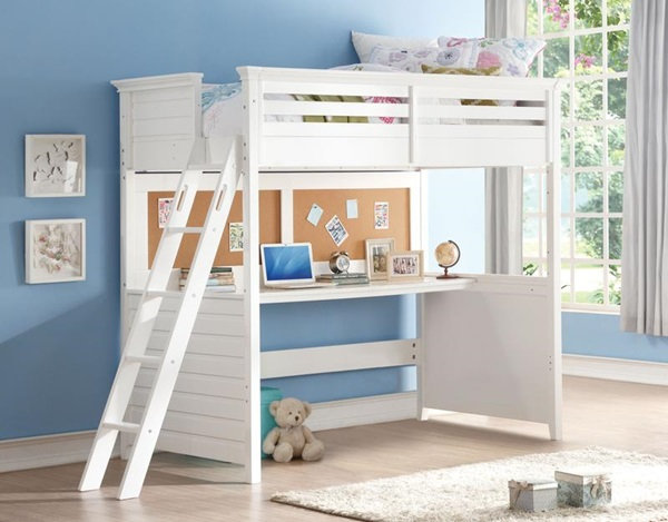 Lacey twin size loft bed