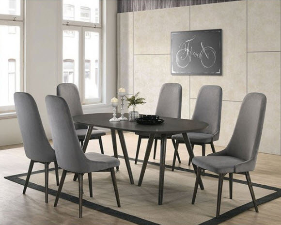 Furniture of America Aniya I Dining Table set