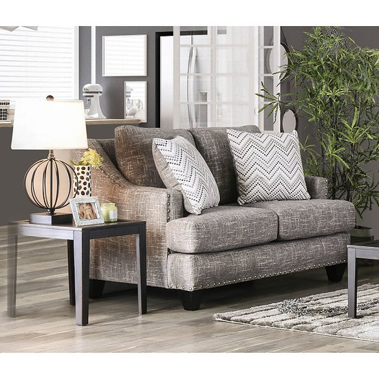 Furniture of America Erika Transitional Loveseat