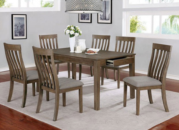 Astilbe 7pc Dining Table Set