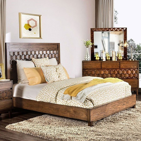 Furniture of America E. King Kallisto Bed