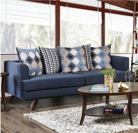 Furniture of America Blaenavon Contemporary Sofa