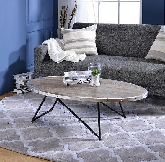 Allis oval coffee table