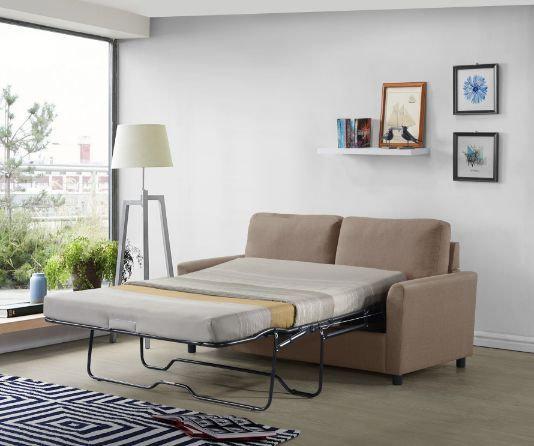 ACME Zenas Sleeper Sofa in Beige
