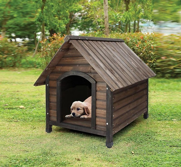 Log-cabin Dog house