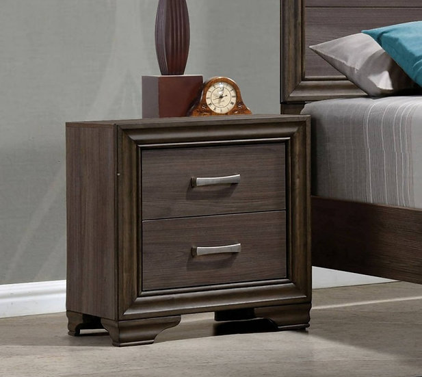 Cyrille 2-Drawer Nightstand