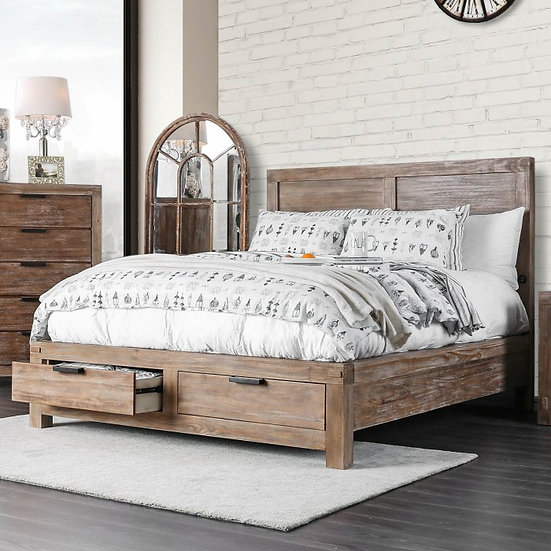 Furniture of America Wynton Queen Storage Bed