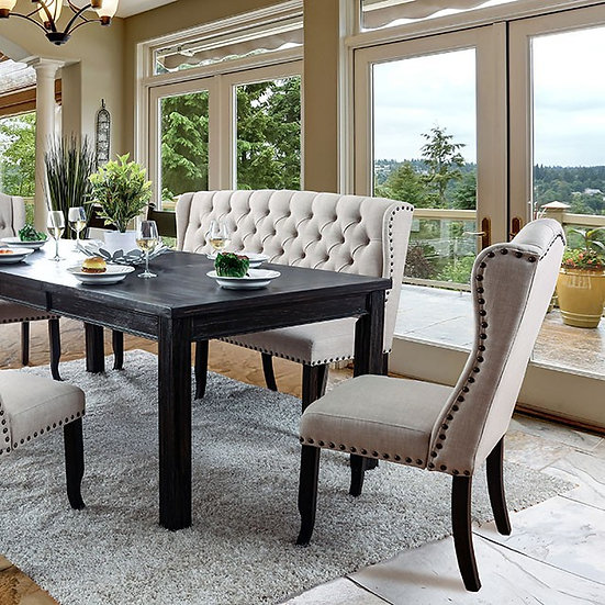 "Sania I 84"" Dining Table Set"