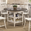 Thumbnail: Round Counter Height 5pc Dining Set