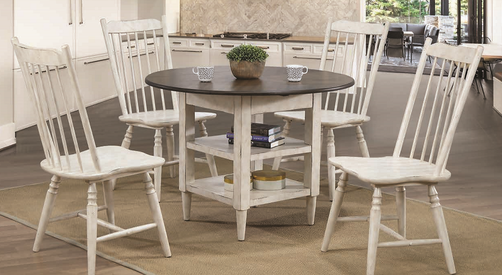 Round Counter Height 5pc Dining Set