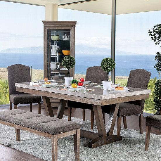 Furniture of America Bridgen Dining Table