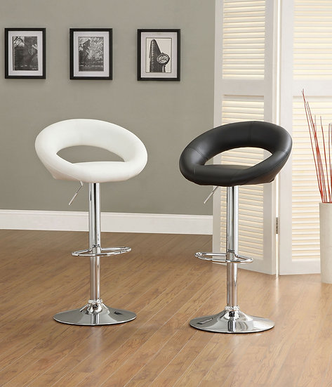 Numbi White Bar Stool (2/Box)