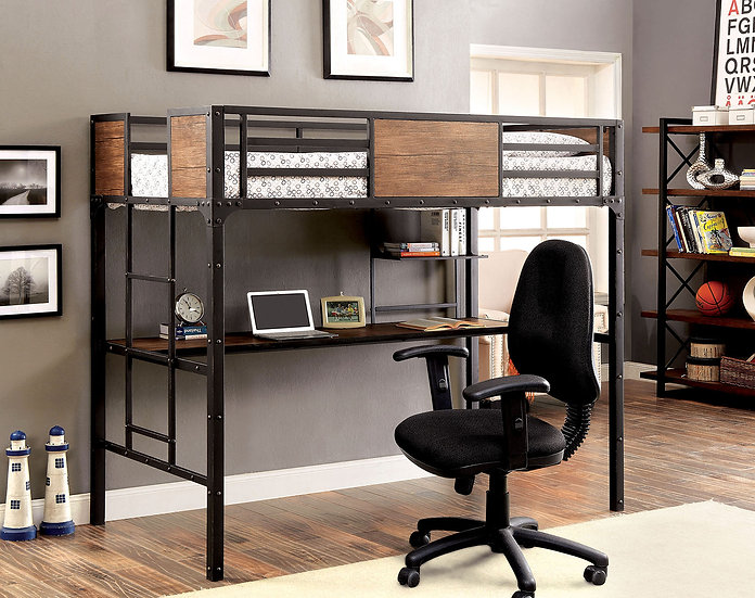 Clapton TWIN/WORKSTATION Bunk Bed