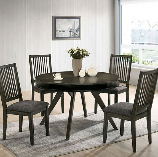 Furniture of America Cherie Round Table set