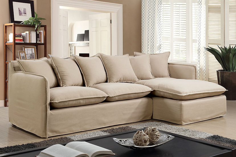 Furniture of America Rosanna II  Sectional with Chaise