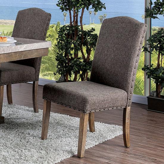 Furniture of America Bridgen Side Chair (2/Ctn)