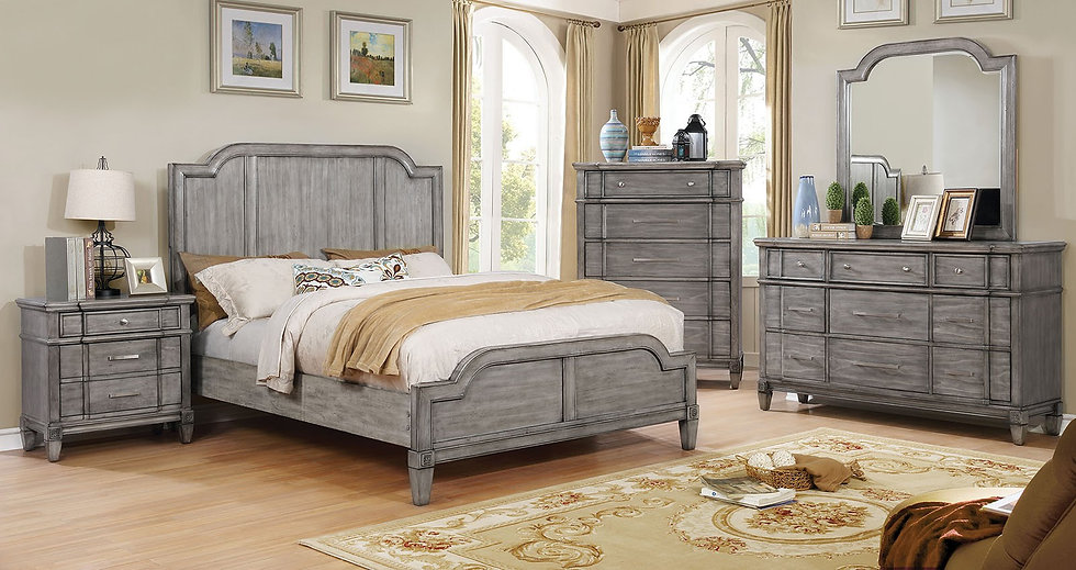 Ganymede Queen Bed