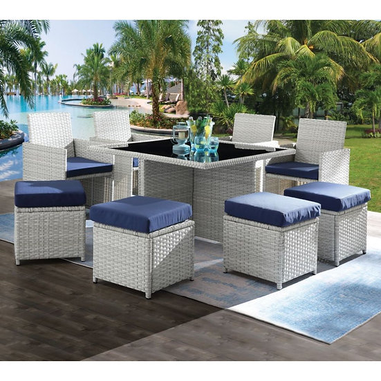 9Pc Patio Set