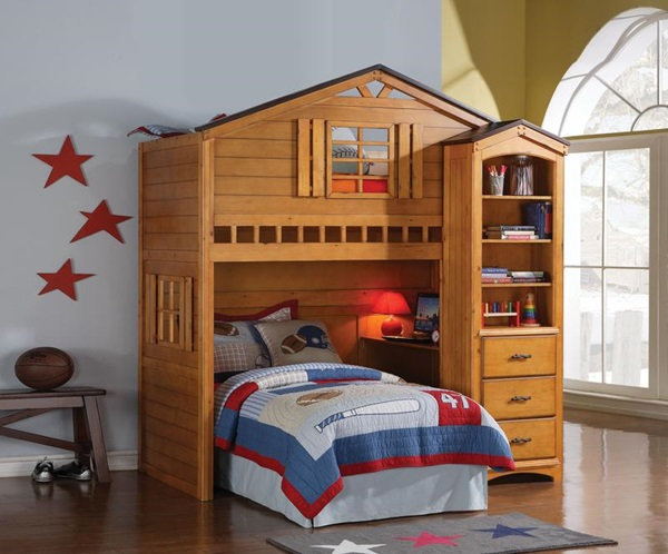 Tree House loft bed