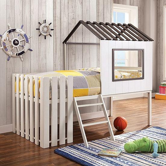Furniture of America Bobbie Twin Bunk Bed