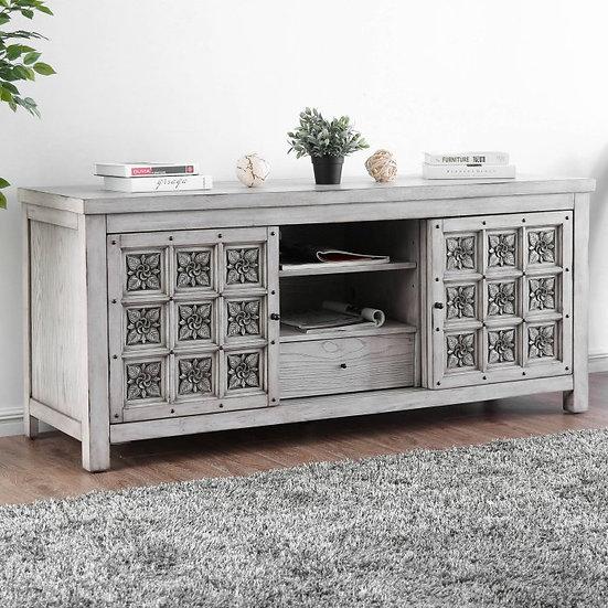 Furniture of America Pantaleon II Carved TV Stand