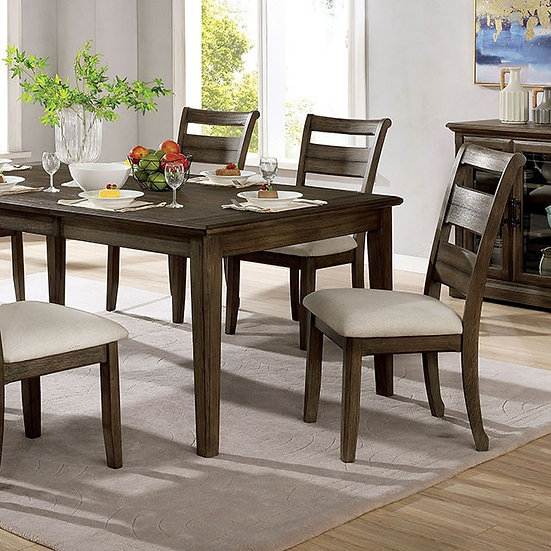 Furniture of America Rigby Dining Table Set