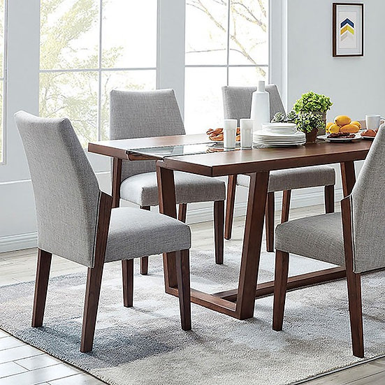 Furniture of America Brighid Dining Table Set