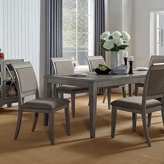 Furniture of America Marla 7-Piece Dining Table Set