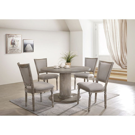 ACME Gabrian 5 piece dining Table