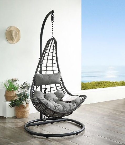 Patio Hanging Chair with Stand