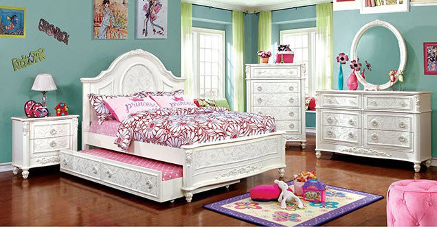 Guinevere Twin Bed with trundle