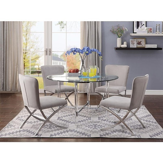 Acme Furniture Daire Dining Room Table Set