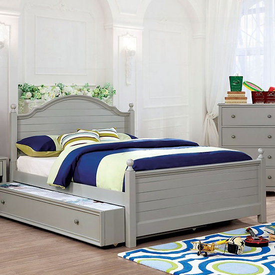 Furniture of America Diane Gray Twin Bed