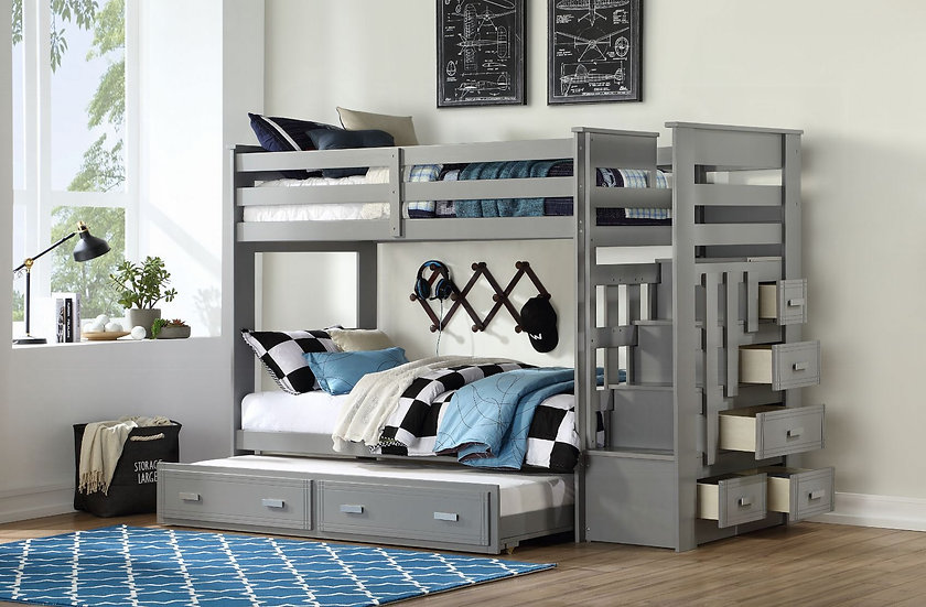 Allentown Bunk Bed & Trundle
