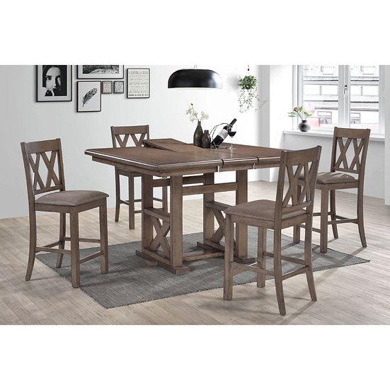 ACME Scarlett Counter Height Table Set