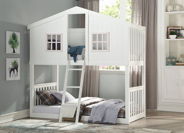 Rohan Cottage Twin Over Twin Bunk Bed