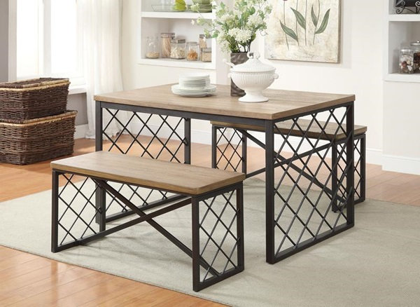 Acme Furniture Catalina 3Pc Pack Dining Set