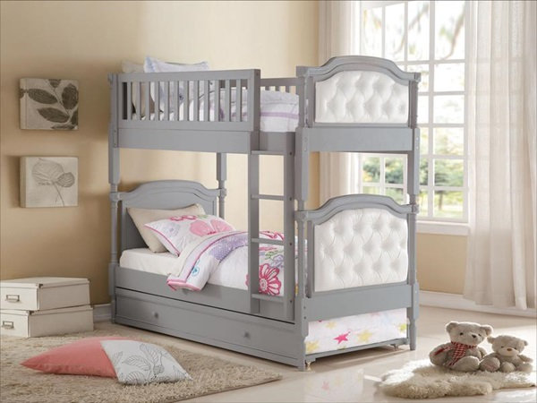Pearlie collection twin bunk bed