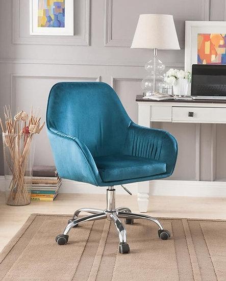 Teal Velvet chair