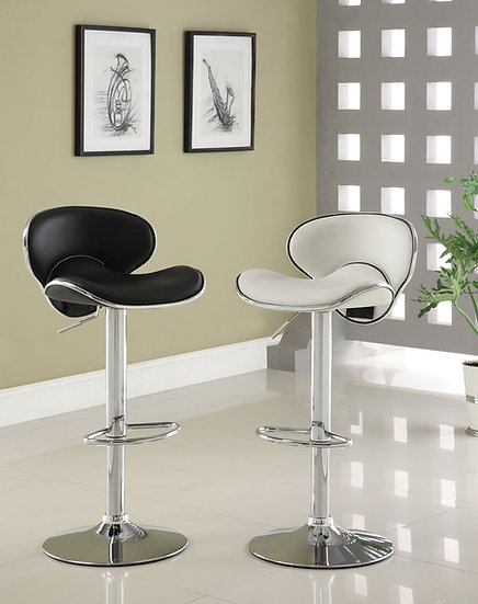 Kossi Black Bar stool