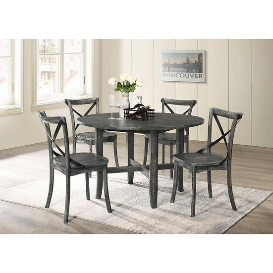 Farmhouse 5 piece round table