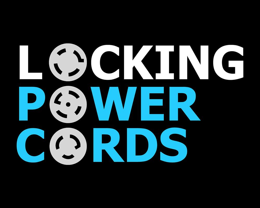 Company Logo - Locking Power Cords