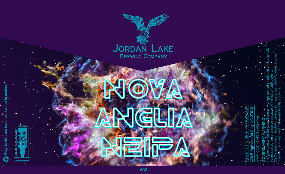 Nova Anglia NEIPA - Jordan Lake Brewing Co.