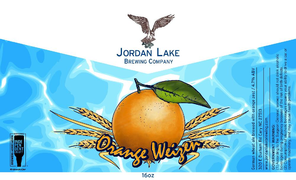 Orange Weizen - Jordan Lake Brewing Co.