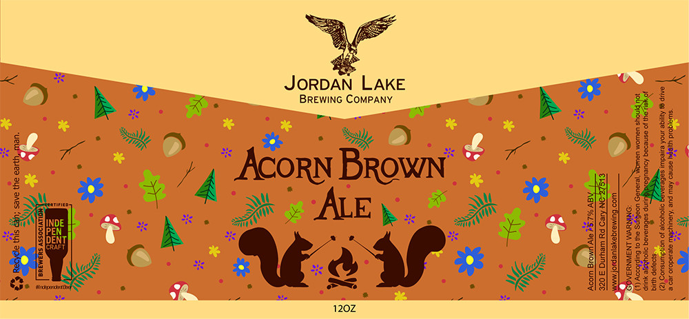 Acorn Brown Ale - Jordan Lake Brewing Co.