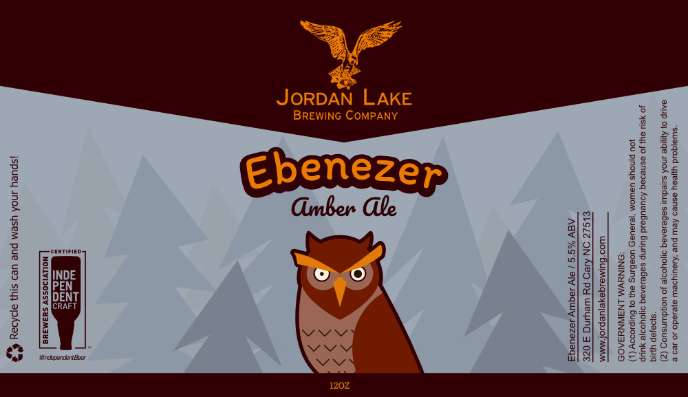 Ebenezer Amber Ale - Jordan Lake Brewing Co.