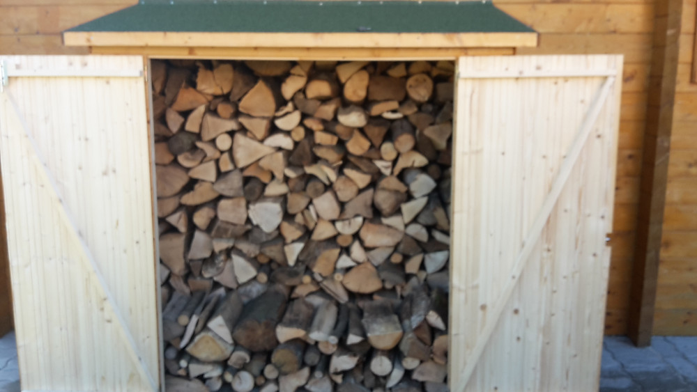 2ème abri à bois