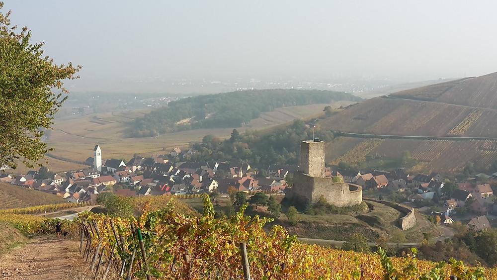 Chateau du Wineck à Katzenthal