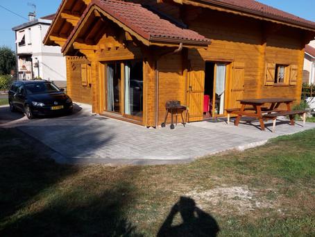 Nouvelle terrasse + nouveau wc