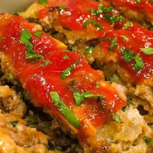 Italian Turkey Sausage Meatloaf